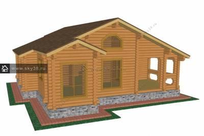 Дом Д-150 эскизный проект