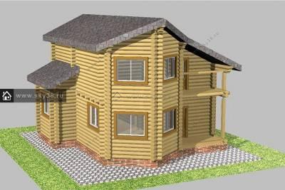 Проект дома Д-2-140-240