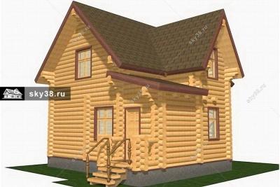 Баня-дом БД-2-84-220