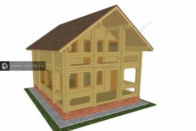 Дом Д-2-132-220