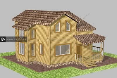 Проект дома Д-2-145-140