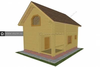 Дом Д-2-101-240 проект